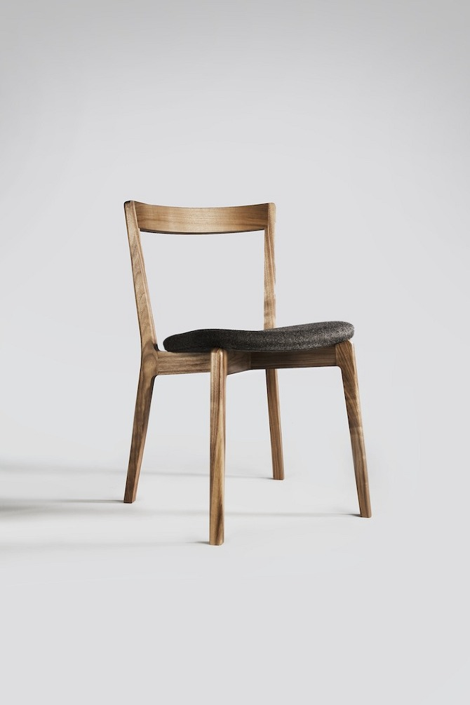 Cross Side Chair, David Irwin, design, thisispaper, magazine
