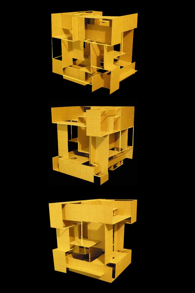 Mondrian Study Elizabeth Becerra Architecture Dsign