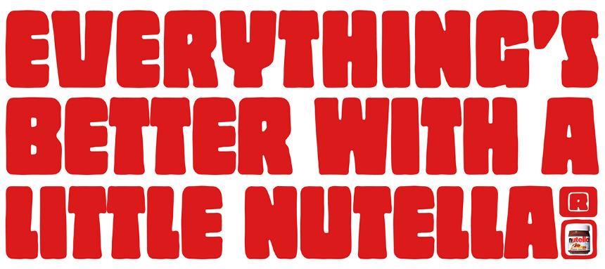 Nutella Logo Nutella - andrew burke's: imgarcade.com/1/nutella-logo